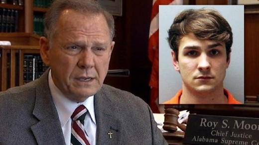 Judge Roy Moore and his jailbait son Caleb