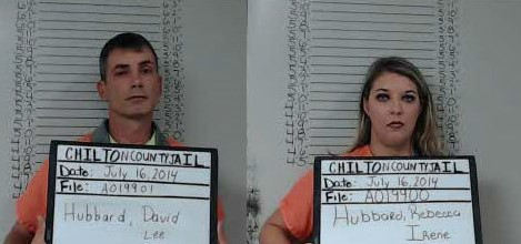 Rebecca and David Hubbard; Chilton County