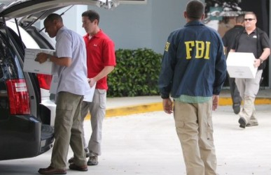 FBI raiding documents